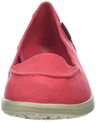 37 Damen Shi Chung Bailarinas Mujer Con Beach Dux Cerrada 8520320 pink Punta Para Pink tOdaq