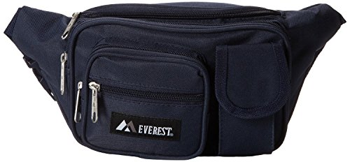 Everest Multiple Pocket Waist Fanny Pack Fanny with Cell Phone Pocket