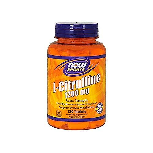 Now L-Citrulline 1200 mg Extra Strength,120 ()