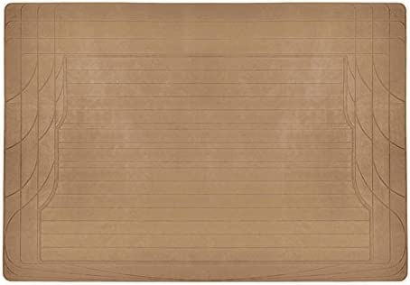 Motortrend Heavy Duty All Weather Rubber Car Cargo Trunk Mat Auto