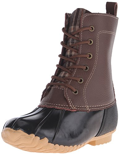 Sporto Women's Jessica Snow Boot, Brown, 8 M US (Sporto Rain Boots)