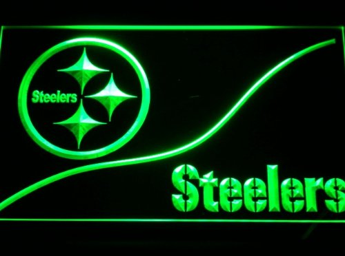 Pittsburgh Steelers Home Neon LED Caracteres Publicidad Neon ...