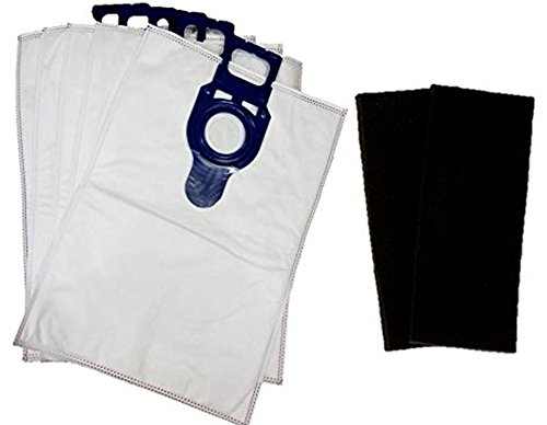 5 Kenmore HEPA TYPE O & U Cloth Vacuum Bags for Upright Sears models Progressive Intuition Elite, Panasonic Type U-2 Vacuum Bags U O 50688 50690 5068 by Electrolux Home Care Inc