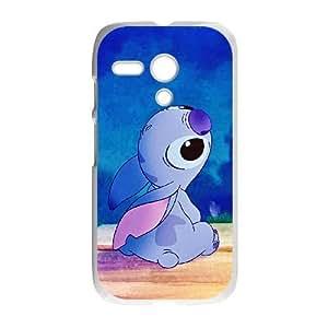 Motorola Moto G Phone Case White Disney Lilo &amp Stitch Character Lilo Pelekai WQ5RT7564867