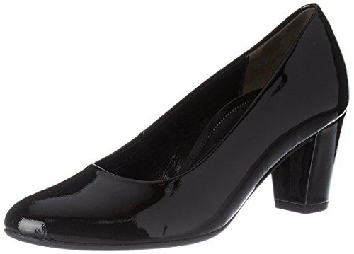 Gabor Shoes Comfort Fashion, Zapatos de Tacón para Mujer Negro (Schwarz)