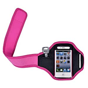 yinwen220us Brand Waterproof New ArmBand Workout Rose Red Case Cover For iphone4/4s