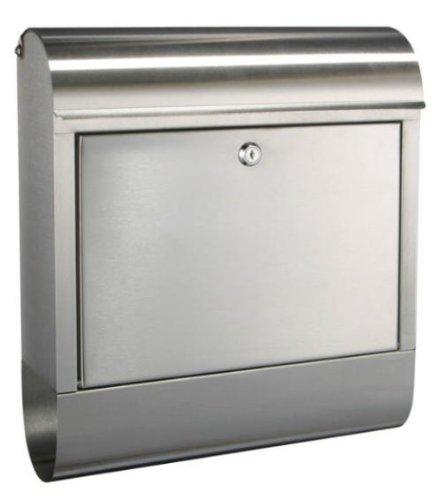 Designer Briefkasten aus Edelstahl rostfrei (180)
