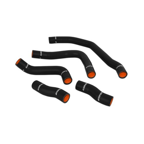 Mishimoto MMHOSE-MR2-90BK Black Turbo Silicone Hose Kit for Toyota MR2