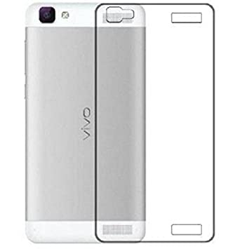 best service ba904 81cda Macsoon Clear Back Cover For Vivo V1 Max: Amazon.in: Electronics
