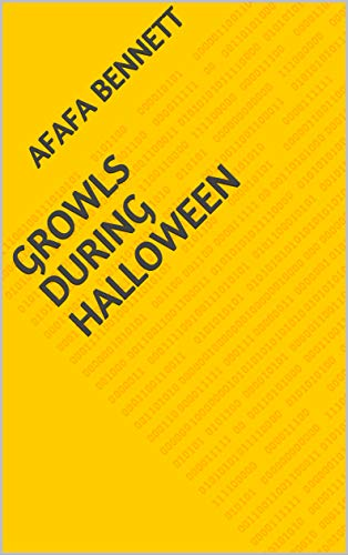 Growls During Halloween (Finnish Edition) -