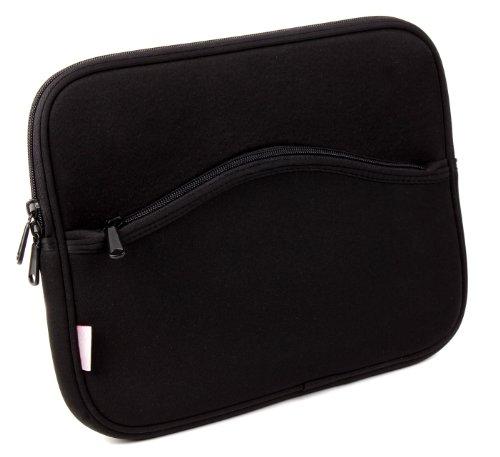 DURAGADGET Black Memory Foam Portable DVD Player Carry-Case for Xoro HSD 7790, HSD 7560 & BD1000 10.1