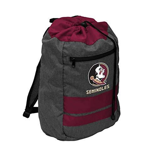 Logo Florida State Seminoles NCAA Journey Backsack - Maroon, - Fsu Sports