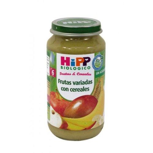 HiPP Biológico Tarrito Frutas Variadas con Cereales - 250 gr: Amazon.es: Alimentación y bebidas