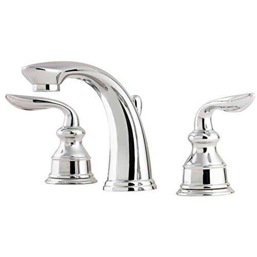 Pfister LFM49CBCC Avalon 2-Handle 8 Inch Widespread Bathroom Faucet in Polished Chrome, Water-Efficient Model (Polished Chrome Water)