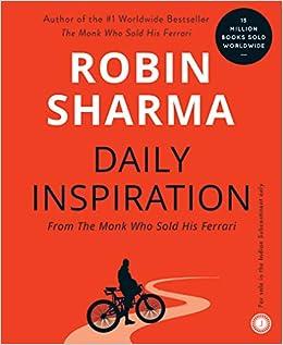 Daily Inspiration From The Monk Who Sold His Ferrari Amazon De Sharma Robin S Fremdsprachige Bücher