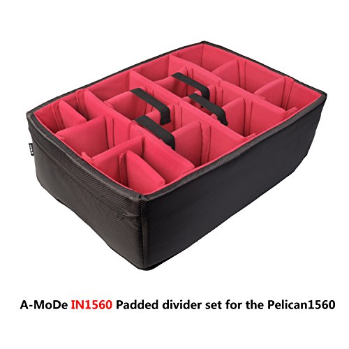 A-MoDe Padded Divider Set to fit Pelican1560 No case