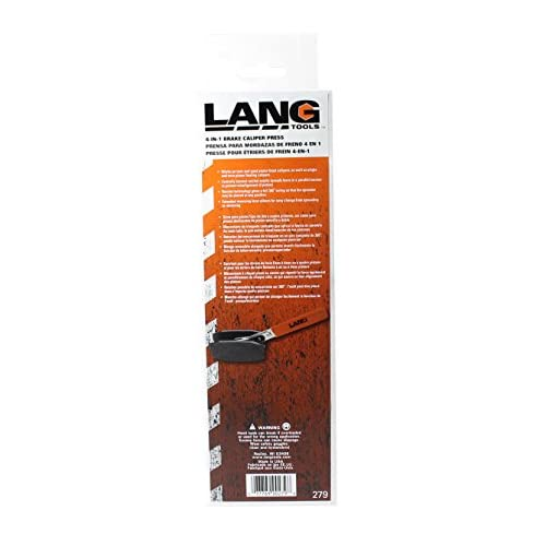 Lang Tools 279-5420 279 Brake Caliper Press