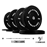 REP FITNESS Bumper Plates for Strength and