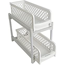 2-Tier Sliding Shelves by Miles Kimball