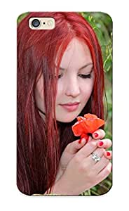 Improviselike Case Cover For Iphone 6 - Retailer Packaging Redhead Protective Case