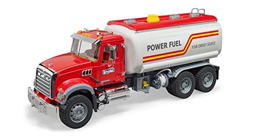 Tanker Truck - Bruder Toys Mack Granite Tanker Truck