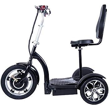 Amazon.com: e-wheels, ew-18 Stand N Ride Scooter 3-Wheel ...