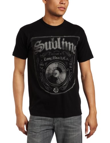 FEA Merchandising Men's Sublime Bottled In LBC Slim Fit T-Shirt, Black, Large