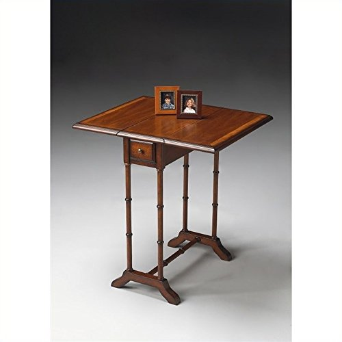 Price comparison product image Butler Specialty Drop-Leaf Table in Umber Finish