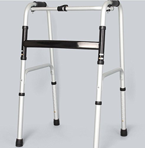 Walker Aluminum Alloy Folding Foldable Disabled Booster Drive Medical Aluminum Fold Up and Removable by jiaminmin