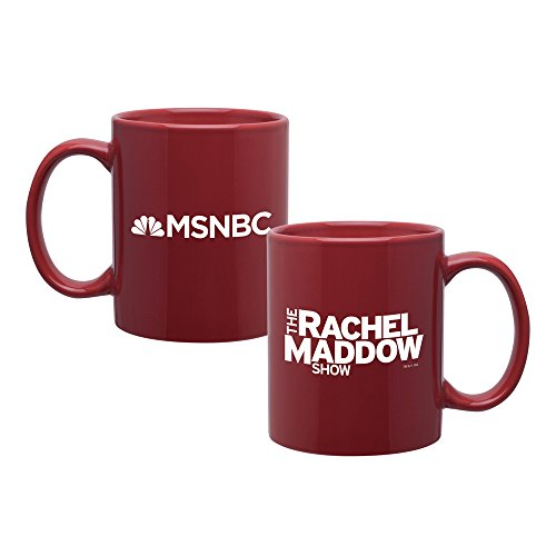 Rachel Maddow Mug   Official Red Mug As Seen On The Rachel Maddow Show On Msnbc