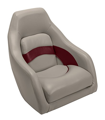 - Wise Premier Series Pontoon Captains Bucket Seat, Mocha Java/Mocha Java Punch/Dark Red/Rock Salt