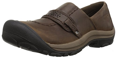 Shoes Femmes Slip Keen Kaci Grain de Cascade Slip Brown Full on on gxnUqAZw