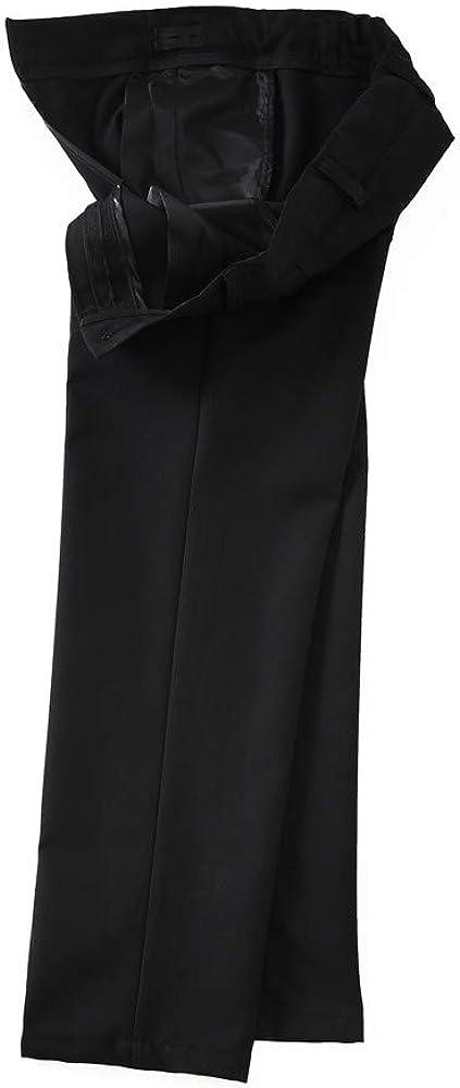 Yanlu Boys Tuxedos Suits Set Blue Black Slim Fit Suit for Weddings