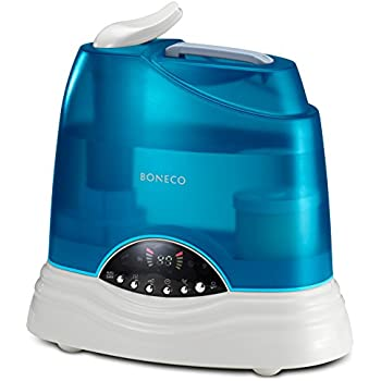BONECO Warm or Cool Mist Ultrasonic Humidifier 7135