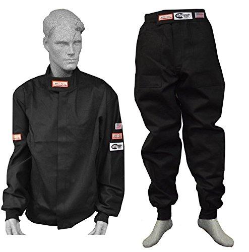 Racerdirect.net SFI 3-2A/1 Fire Suit Racing Jacket & Pants Single Layer Size Adult XL by Racerdirect.net