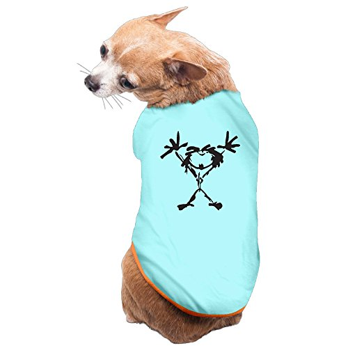 Funniest Outfits (Jade Custom Funniest Pop Muisc Doggy Outfit SkyBlue Size L)