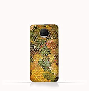 Motorola Moto G5S TPU Silicone Case With Stained Glass Art Design