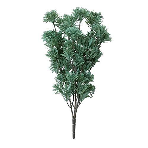 人工観葉植物 リューカテンドロンブッシュシルバー(12個セット) ba630 (代引き不可) インテリアグリーン 造花 BUSH B07SXGHQ8Y