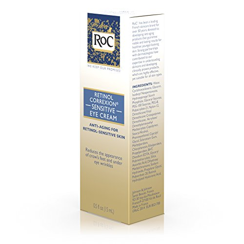 Roc sensitive eye cream reviews