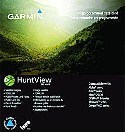 Garmin Huntview Map Card
