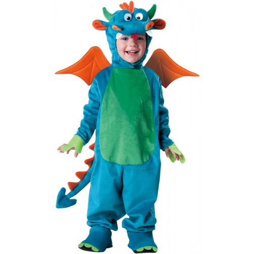 InCharacter Costumes, LLC Dinky Dragon, Blue/Green/Orange,