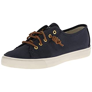 Sperry Women's Seacoast Fashion Sneaker, Navy, 11 M US