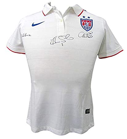 best sneakers d8215 27d07 Wambach/Solo/Press USA Womens Soccer Multi-Signed Nike ...