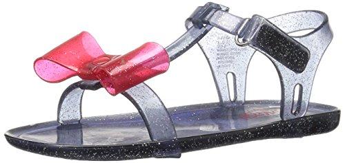 OshKosh B'Gosh Girls' Gela Jelly T-Strap Sandal, Navy, 9 M US Toddler