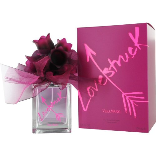 Woody Floral Scent (Love Struck Eau De Parfum Spray for Women by Vera Wang, 3.4 Ounce)