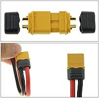 10pcs.GENUINE NYLON with shrink tube NOT A COPY! xt-60 female connectors