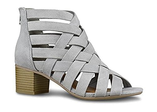 Womens Gladiator Wedge Sandals Booties product image