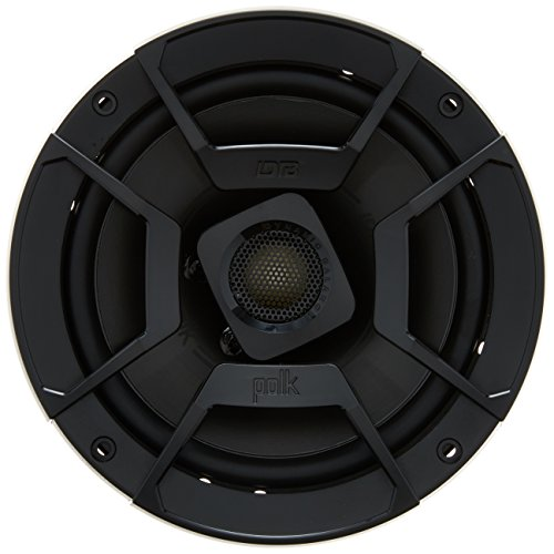 Polk Audio DB652 Black Ultramarine Dynamic Balance Coaxial Speakers, 6.5