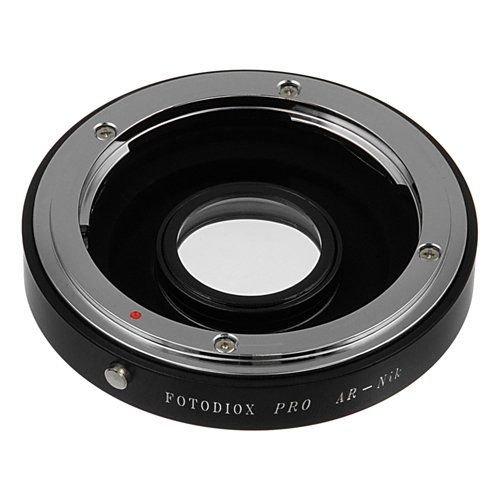 Adaptateur de monture dobjectif  pour objectif Konica AR et appareils photo Nikon F-Mount DSLR Fotofiox Pro
