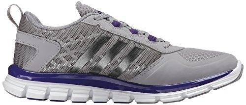 Adidas Hombres Freak X Carbon Mid Cross Entrenador Light Onyx Grey / Carbon Metallic / Collegiate Purple